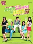 Постер Список Амита Сахни