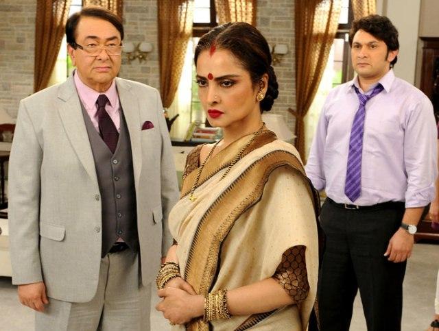 Рандхир Капур, Рекха и Раджеш Кумар